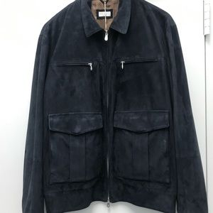 Brunello Cucinelli Man Leather Jacket